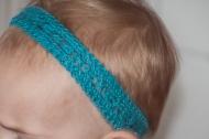 narrow lace hairband