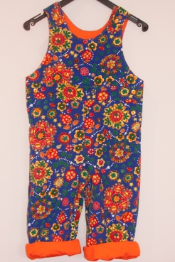 dungarees in the most colourful cordoruy I could possibly find